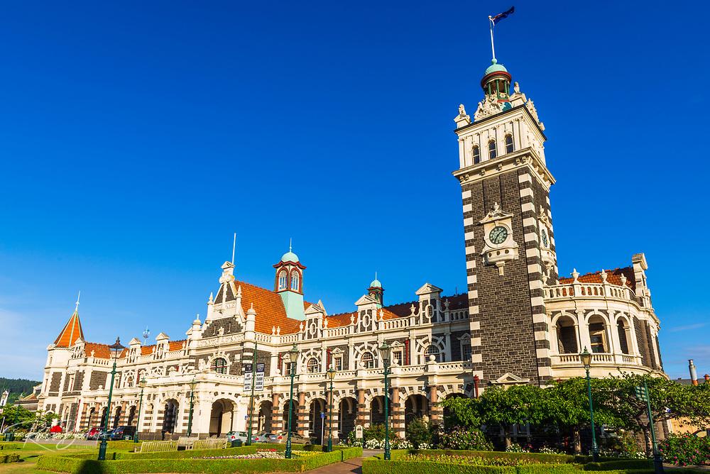 The Dunedin Railway Station, Dunedin, South Island, New Zealand