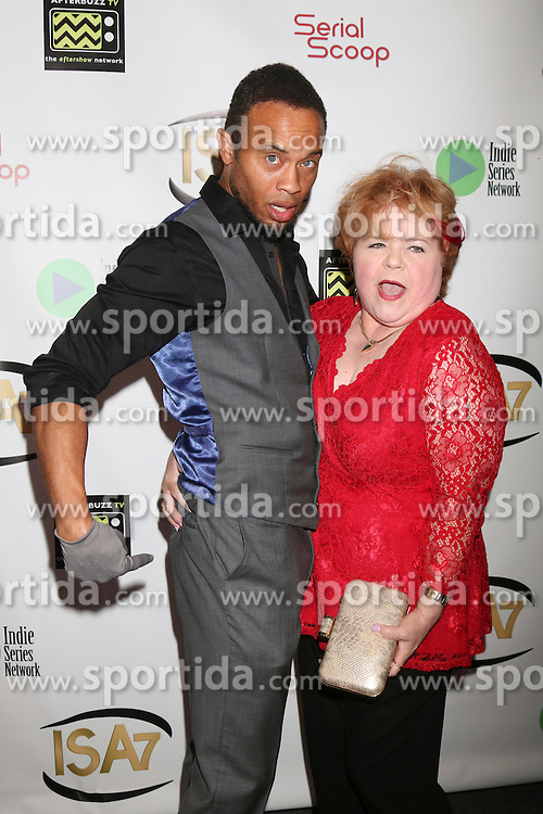 Kiko Ellsworth, Patrika Darbo at the 7th Annual Indie Series Awards at the El Portal Theater on April 6, 2016 in North Hollywood, CA. EXPA Pictures © 2016, PhotoCredit: EXPA/ Photoshot/ Kerry Wayne<br /> <br /> *****ATTENTION - for AUT, SLO, CRO, SRB, BIH, MAZ, SUI only*****