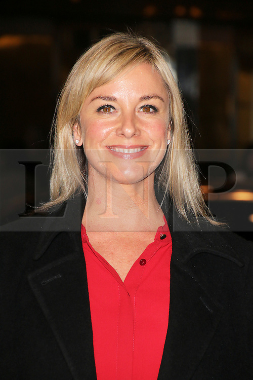 © London News Pictures. Tamzin Outhwaite attends the Exhibition of exclusive photographs of Kate Moss at The Savoy, London UK, 30 January 2014, Photo credit: Richard Goldschmidt/LNP
