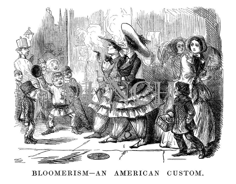 Bloomerism--An American Custom.