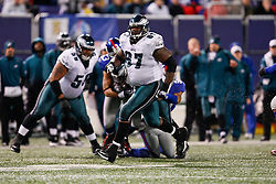 Philadelphia Eagles offensive tackle Jamaal Jackson #67 during the NFL game between the Philadelphia Eagles and the New York Giants on December 13th 2009. The Eagles won 45-38 at Giants Stadium in East Rutherford, New Jersey. (Photo By Brian Garfinkel)