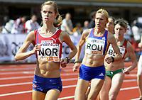 Friidrett<br /> 20. Juni 2009<br /> European Team Championships 1. st Leauge<br /> Fana Stadion<br /> 3000 m<br /> Silje Fjørtoft , Norge<br /> Foto : Astrid M. Nordhaug