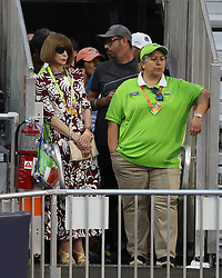 March 23, 2019 - Miami Gardens, Florida, United States Of America - MIAMI GARDENS, FLORIDA - MARCH 23:  Anna wintour day 6 of the Miami Open Presented by Itau at Hard Rock Stadium on Saturday on March 23, 2019 in Miami Gardens, Florida..People: Anna wintour. (Credit Image: © SMG via ZUMA Wire)