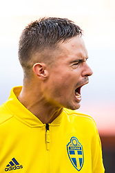 June 27, 2018 - Ekaterinburg, Russia - 180627 Mikael Lustig of Sweden prior the FIFA World Cup group stage match between Mexico and Sweden on June 27, 2018 in Ekaterinburg..Photo: Petter Arvidson / BILDBYRÃ…N / kod PA / 87737 (Credit Image: © Petter Arvidson/Bildbyran via ZUMA Press)