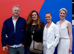 Edinburgh International Film Festival 2019<br /> <br /> Wedding Belles red carpet<br /> <br /> Pictured: (l to r) Philip John (director), Jemma Rodgers (producer), Kathleen McDermott, and Shauna Macdonald <br /> <br /> Alex Todd | Edinburgh Elite media