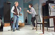 "Photo by Mara Lavitt<br /> New Haven, CT<br /> April 26, 2017<br /> Technical rehearsal for Yale Repertory Theatre's production of ""Mary Jane."" Emily Donahoe , left, and Kathleen Chalfant."