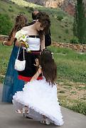 Armenia, Noravank Monastery A wedding procession