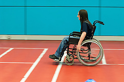 Wheelchair sports in secondary school UK