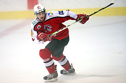Jakob Milovanovic of Briancon at ice hockey match EHC Liwest BW Linz of Austria vs HC DR Briancon of France during Summer league R. Hiti,  on August 29, 2008 in Arena Bled, Bled, Slovenia.  (Photo by Vid Ponikvar / Sportal Images)