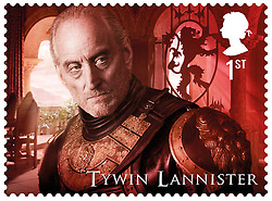 January 3, 2018 - Royaume Uni - Hit TV series Game of Thrones is being immortalised with a set of stamps issued by the UK's Royal Mail.The 15 first class stamps have been issued to mark the significant British contribution to the production of the award-winning HBO sword and sorcery drama.The series is set on the fictional continent of Westeros and incorporates many plot lines and a conflict among several noble families each claiming the Iron Throne of the Seven Kingdoms. The stamps depict photographic representations of central characters from across all seven seasons in the Game of Thrones' series. Each stamp is centred on an individual character and features a montage of images from the series. The result is a set of ten bespoke images that embody the crux of each character's story. Characters featured on the stamps are: Sansa Stark; Jon Snow; Eddard Stark; Olenna Tyrell; Tywin Lannister; Tyrion Lannister; Cersei Lannister; Arya Stark; Jamie Lannister and Daenerys Targaryen. A sheet of five additional stamps features the non-human characters in the series including: the Night King and White Walkers; Giants; Direwolves; Dragons and the Iron Throne itself. he Game of Thrones production involves a very significant British contribution. Principal filming of the series is at Titanic Studios in Belfast, at the Linen Hill Film Studio in Banbridge and on location elsewhere in Northern Ireland, with additional filming in Scotland and European locations including Malta, Croatia, Iceland, Morocco and Spain. Additionally, the acclaimed cast is predominantly British and Irish, and British expertise is to the fore in many areas of the production, including award-winning costume design and prosthetic special effects. Fans can pre-order the stamps by visiting royalmail.comIn addition to the stamps there is an extensive range of products - exclusive souvenirs, limited edition and gifts.Products include framed stamps, prints and the Prestige Stamp Book provide
