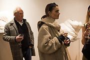 NICHOLAS WRIGHT, FLORA PHILLIPS, Nicole Farhi at Beaux Arts London - 30 January.  2019