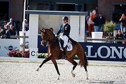 De Vries Mara, NED, Farzana G<br /> Longines FEI/WBFSH World Breeding Dressage Championships for Young Horses - Ermelo 2017<br /> © Hippo Foto - Dirk Caremans<br /> 03/08/2017