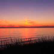 """""""September Sunset""""<br /> <br /> Beautiful sunset and silhouette on Lake Michigan's shores!!<br /> <br /> Sunset Images by Rachel Cohen"""