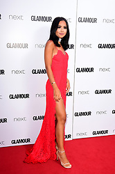 Diana Saldana attending the Glamour Women of the Year Awards 2017 in association with Next, Berkeley Square Gardens, London. PRESS ASSOCIATION Photo. Picture date: Tuesday June 6, 2017. Photo credit should read: Ian West/PA Wire