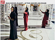 LFI.GALLERY PHOTOGRAPHER 24.07.2018  <br /> For an assignment from his agency, Belgian photographer Jean-Michel Clajot took pictures in the Louvre Abu Dhabi. Soon he noticed visitors were more busy taking selfies than looking at the art. Tearsheet - Jean-Michel Clajot - Photojournalist