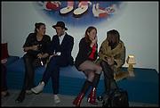 REBECCA GUINNESS; HENRY HUDSON;  DANIELLE EMERSON; BROOKE MCCORD, Julia Peyton-Jones, Hans Ulrich Obrist and Coach host the Serpentine Future Contemporaries Party. Serpentine Sackler Gallery. Kensington Gdns. London. 21 February 2015