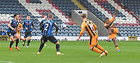 Hull City's Mallik Wilks cores his team's 2nd goal<br /> <br /> <br /> Photographer Dave Howarth/CameraSport<br /> <br /> The EFL Sky Bet League One - Rochdale v Hull City - Saturday 17th October 2020 - Spotland Stadium - Rochdale<br /> <br /> World Copyright © 2020 CameraSport. All rights reserved. 43 Linden Ave. Countesthorpe. Leicester. England. LE8 5PG - Tel: +44 (0) 116 277 4147 - admin@camerasport.com - www.camerasport.com
