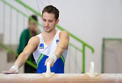 Saso Bertoncelj during Slovenian Artistic Gymnastics National Chapionship 2011, on November 20, 2011 in GIB Arena, Ljubljana, Slovenia. (Photo By Vid Ponikvar / Sportida.com)