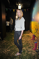 JADE PARFITT at a party to celebrate the global launch of the Iconic Brazilian lifestyle brand Havaianas Wellies range held at Selfridges, Oxford Street, London on 14th April 2011.