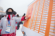 The mens Snowboard Slopestyle Qualifications at the Pyeongchang Winter Olympics on the 10th February 2018 in Phoenix Snow Park in South Korea