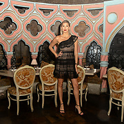 Lilly Douse is a contestant attend The Bachelor UK 2019 launch night - The girls private screening on Channel 5 at Beach Blanket Babylon on 4 March 2019, London, UK