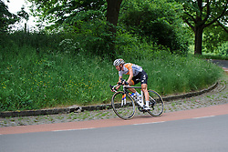 Thalita de Jong (Rabo Liv) goes solo at Boels Hills Classic 2016. A 131km road race from Sittard to Berg en Terblijt, Netherlands on 27th May 2016.