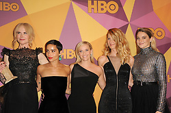 Zoe Kravitz, Reese Witherspoon, Laura Dern, Shailene Woodley and Nicole Kidman at the HBO's 2018 Official Golden Globe Awards After Party held at the Circa 55 Restaurant in Beverly Hills, USA on January 7, 2018. (Photo by Lumeimages/Sipa USA)
