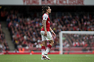 Hector Bellerin of Arsenal looks on. Premier league match, Arsenal v AFC Bournemouth at the Emirates Stadium in London on Saturday 9th September 2017. pic by Kieran Clarke, Andrew Orchard sports photography.