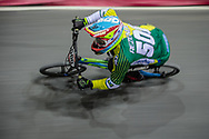 #500 (REZENDE Renato) BRA at Round 2 of the 2019 UCI BMX Supercross World Cup in Manchester, Great Britain