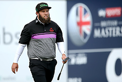 Andrew Johnston during day two of the British Masters at Walton Heath Golf Club, Surrey.