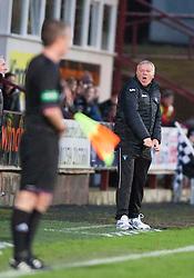 Jim Jeffries, Dunfermline's manager..Dunfermline 0 v 1 Falkirk, 26/12/2012..©Michael Schofield.
