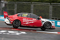 October 21, 2018 - Gold Coast, QLD, U.S. - GOLD COAST, QLD - OCTOBER 21: Will Davison / Alex Davison in the Milwaukee Racing Ford Falcon during the race at The 2018 Vodafone Supercar Gold Coast 600 in Queensland, Australia. (Photo by Speed Media/Icon Sportswire) (Credit Image: © Speed Media/Icon SMI via ZUMA Press)