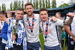 Bury celebrate promotion - Mandatory by-line: JMP - 04/05/2019 - FOOTBALL - Gigg Lane - Bury, England - Bury v Port Vale - Sky Bet League Two