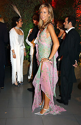 LADY VICTORIA HERVEY at Andy & Patti Wong's Chinese New Year party to celebrate the year of the Rooster held at the Great Eastern Hotel, Liverpool Street, London on 29th January 2005.  Guests were invited to dress in 1920's Shanghai fashion.<br />
