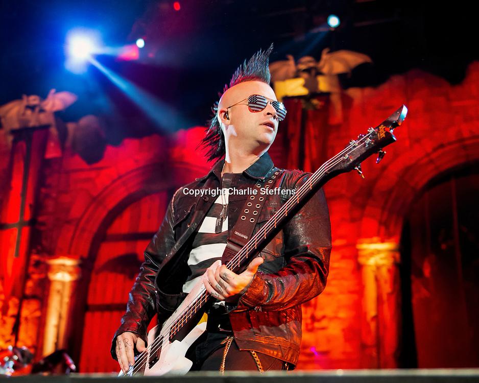 Johnny Christ<br /> Avenged Sevenfold<br /> July 5, 2014<br /> Glen Helen Amphitheater<br /> San Bernardino, California