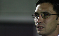 Photo: Paul Thomas.<br /> Bury v Weymouth. The FA Cup. 21/11/2006.<br /> <br /> Chris Casper, Bury manager.