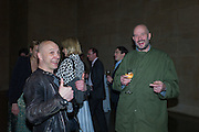 DAVID FALCONER; DINOS CHAPMAN, Opening for Nick Waplington's Alexander McQueen photography exhibition and Christina Mackie's Tate Britain Commission. Tate Britain. London. 23 March 2015