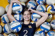 Meredith Przybocki of Pine Bush is the Times Herald-Record Varsity845 Volleyball Player of the Year. She's seen photographed at the high school in Pine Bush, NY on Wednesday, November 28, 2012.  CHET GORDON/Times Herald-Record