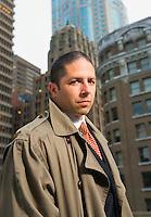 Portrait of a businessman, Seattle, Washington.