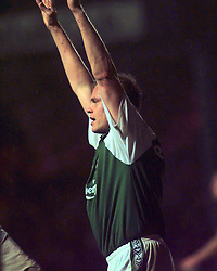 HIBS V MOTHERWELL..HIBS 1ST GOAL - SCORER CELE - PAATELAINEN..©2010 Michael Schofield. All Rights Reserved.