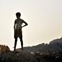Garbage dump kids in Chennai