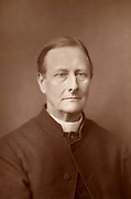 Sabine Baring-Gould (1834-1924) English clergyman, author and hymn writer. His most famous hymn is 'Onward, Christian Soldiers'.  From 'The Cabinet Portrait Gallery' (London, 1890-1894).  Woodburytype after photograph by W & D Downey.