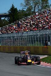 06.06.2015, Circuit Gilles Villeneuve, Montreal, CAN, FIA, Formel 1, Grand Prix von Kanada, Qualifying, im Bild Daniil Kvyat (RUS) Red Bull Racing RB11 // during Qualifyings of the Canadian Formula One Grand Prix at the Circuit Gilles Villeneuve in Montreal, Canada on 2015/06/06. EXPA Pictures © 2015, PhotoCredit: EXPA/ Sutton Images/ Patrick Vinet<br /> <br /> *****ATTENTION - for AUT, SLO, CRO, SRB, BIH, MAZ only*****