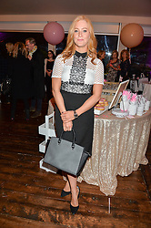 SARAH-JANE MEE at a party to celebrate the new partnership of Maids to Measure with Touker Suleyman held in The Winter Marquee, Home House, 20 Portman Square, London on 2nd March 2016.