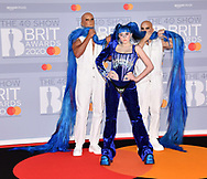 The 40th BRIT Awards show  Tuesday 18th February at The O2 Arena in London.<br /> Ashnikko
