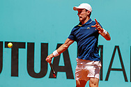 Roberto Bautista-Agut of Spain in action during the Mutua Madrid Open 2018, tennis match on May 9, 2018 played at Caja Magica in Madrid, Spain - Photo Oscar J Barroso / SpainProSportsImages / DPPI / ProSportsImages / DPPI