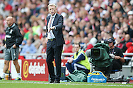 Sunderland Manager David Moyes  during the Premier League match between Sunderland and Middlesbrough at the Stadium Of Light, Sunderland, England on 21 August 2016. Photo by Simon Davies.