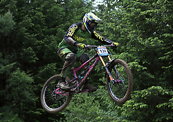 William Jones of One Vision Global Racing during day two of the 2017 UCI Mountain Bike World Cup at Fort William. PRESS ASSOCIATION Photo. Picture date: Sunday June 4, 2017. Photo credit should read: Tim Goode/PA Wire. RESTRICTIONS: Editorial use only, no commercial use without prior permission