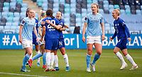 2020 / 2021 FA Women's Super League - Manchester City vs Chelsea - Manchester City Academy Stadium<br /> <br /> Sam Kerr of Chelsea celebrates at Academy Stadium<br /> <br /> Credit COLORSPORT/LYNNE CAMERON