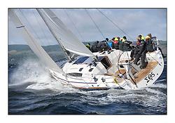 Brewin Dolphin Scottish Series 2011, Tarbert Loch Fyne - Yachting - Day 2 of the 4 day series. Windy!.GBR9192R ,Eos ,Rod Stuart ,CCC/PEYC ,Elan 410..